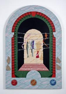 Acrylic on Canvas. 123.0cm x 83.0cm