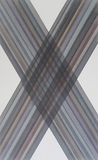 Watercolour. 19.6cm x 12.0cm