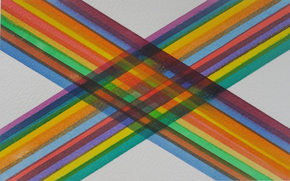 Watercolour. 20.2cm x 12.6cm
