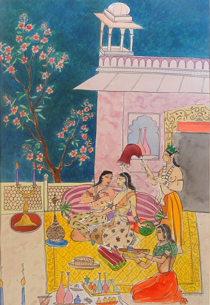 Watercolour & Pencil. 39.0cm x 26.3cm