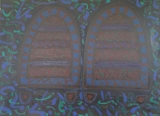 Oil on Canvas. 43.0 x 56.0