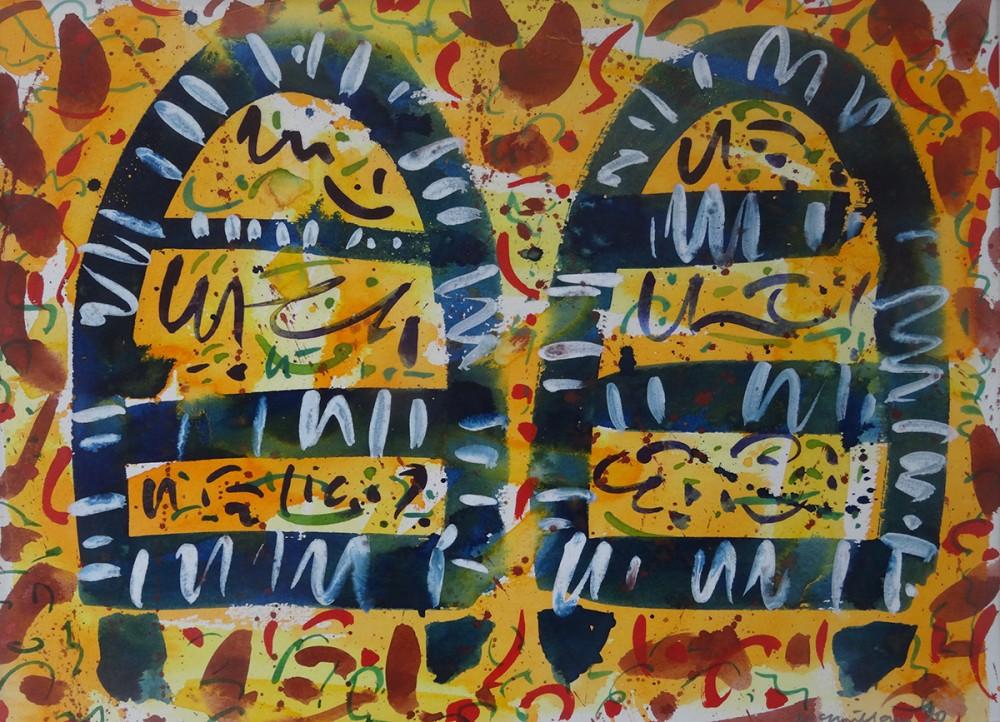 Watercolour. 21.6cm x 29.5cm