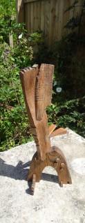 Wood assemblage. 40.0cm x 20.0cm x 15.0cm.