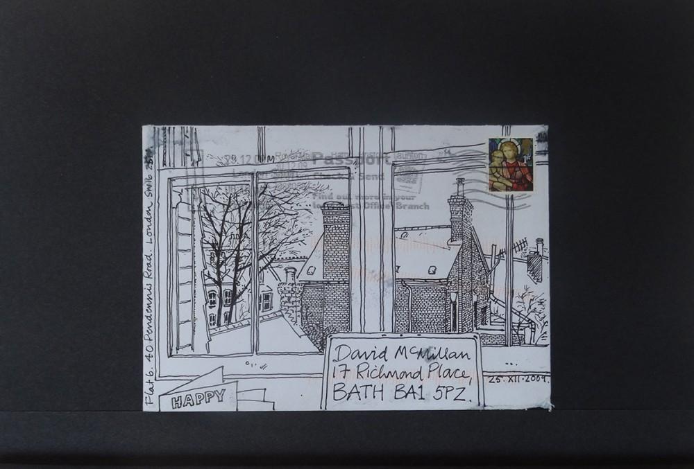 Pen & Ink. C6 envelope